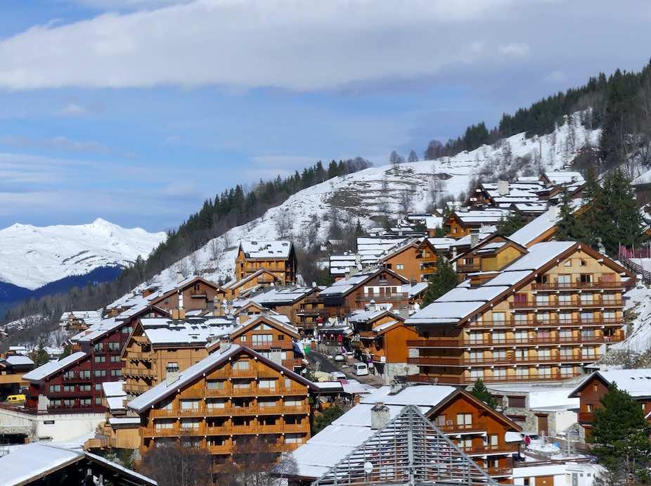 Méribel ski resort