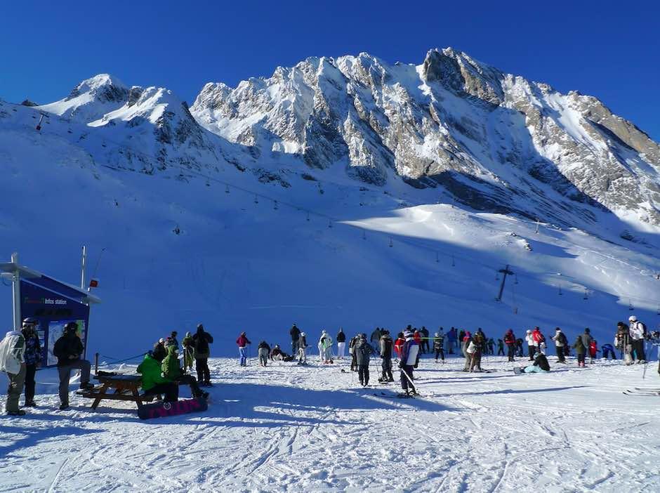 Pistas estación de esquí Gourette