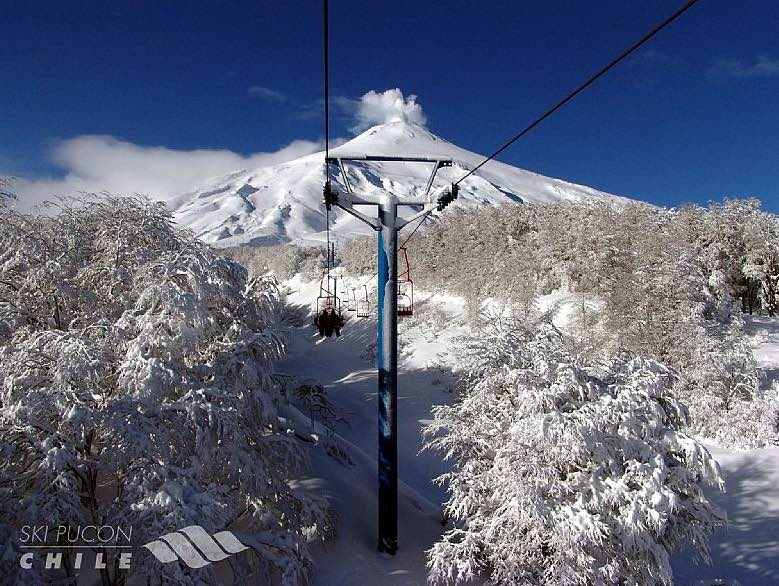 estación esquí Pucón