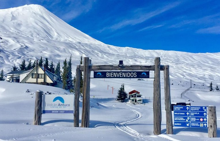 esquiar-volcán
