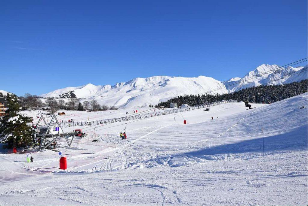 Pistas estación de esquí Val Louron