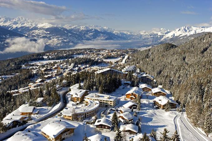 Estación de esquí Crans Montana