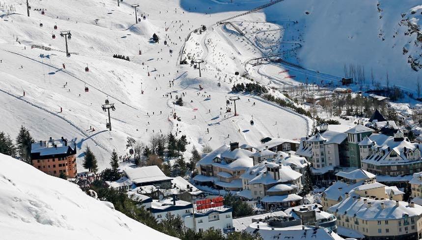 Photo: Ski Resort of Sierra Nevada