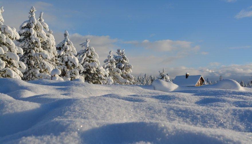 nieve alpes esqui