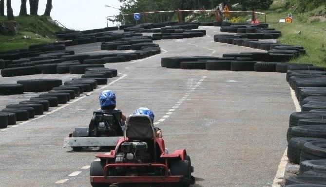 Circuito karts Manzaneda