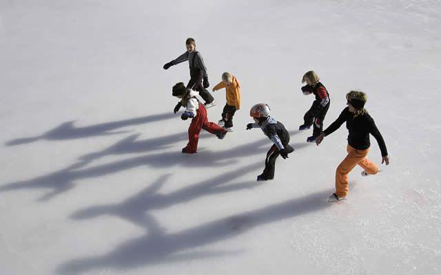 Patinaje en estación de esquí Obergurgl