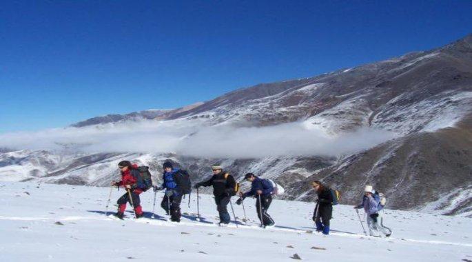 Raquetas de nieve estación esquí Vallecitos