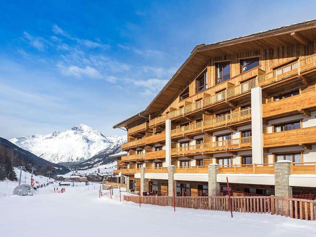 Val-Cenis ski station