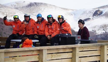 Après-ski estación esquí Antillanca