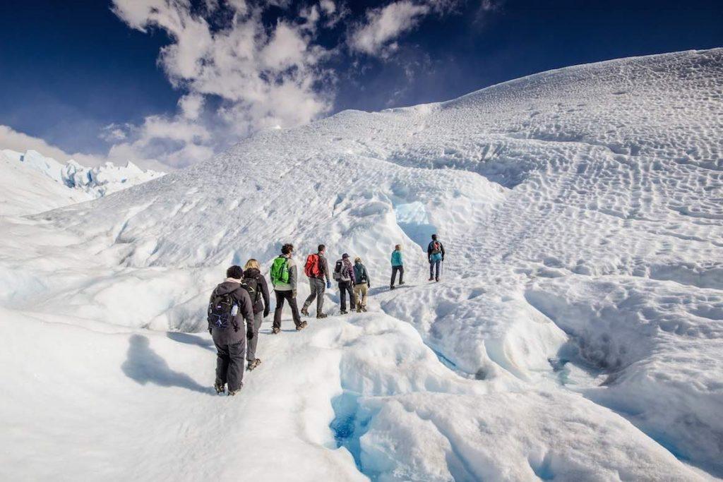 Trekking estación de esquí Perito Moreno