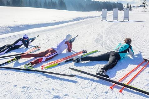 Biathlon estación esquí Val Louron