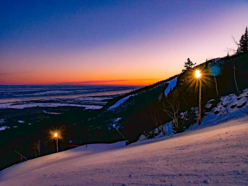 Mont Sainte Anne ski resort