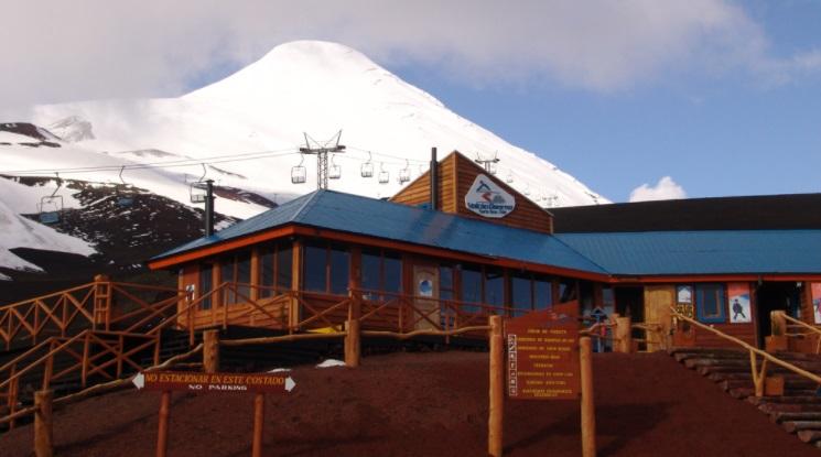 Domo en Volcán Osorno