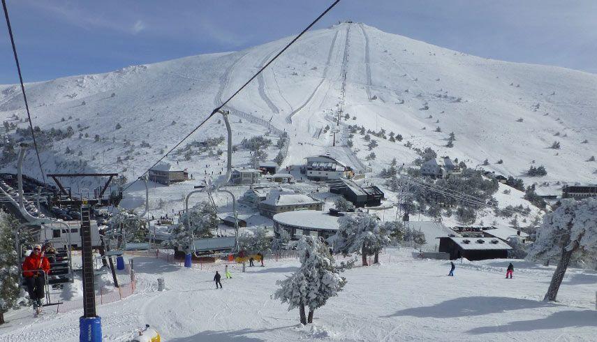 estación esquí Puerto Navacerrada