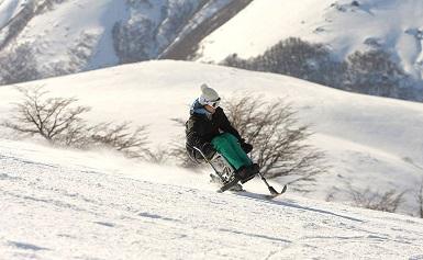 Esquí adaptado Cerro Bayo