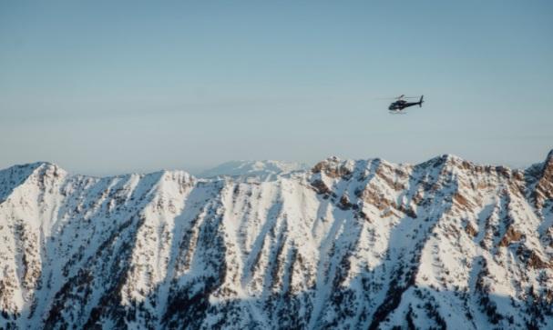 Esquí en Helicóptero Alta