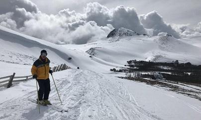Esquí estación Cerro El Fraile