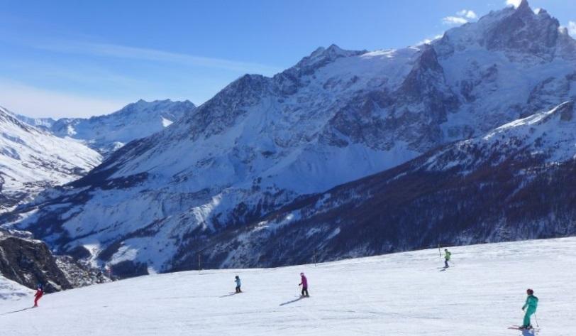 Estación de esquí La Grave 1