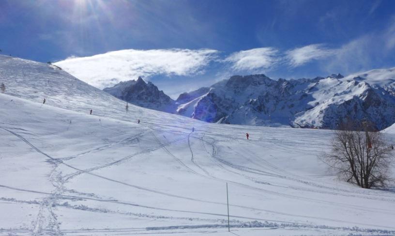 Estación de esquí La Grave
