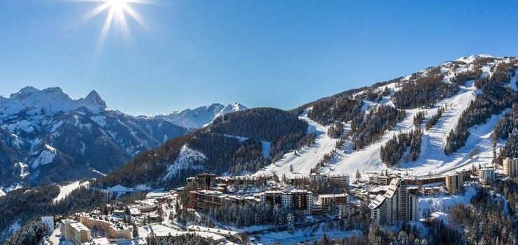 Estación de esquí Pra Loup