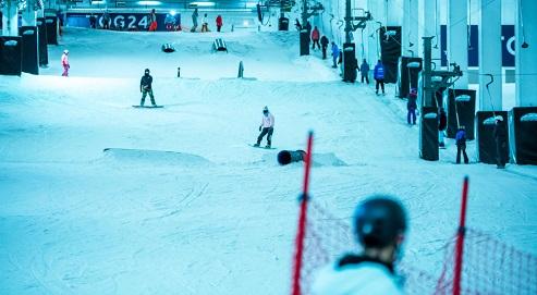Estación de esquí Snozone Castleford
