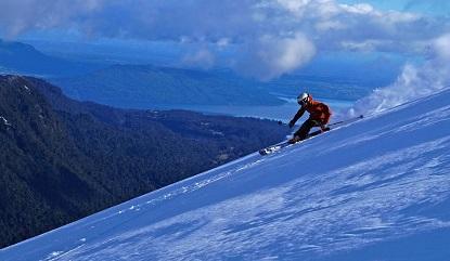 Freeride estación de esquí Antillanca