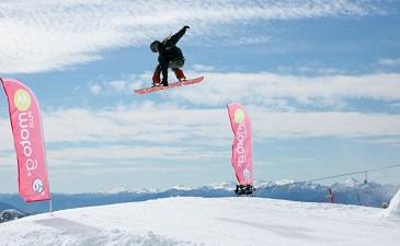 Freestyle centro esquí Pucón