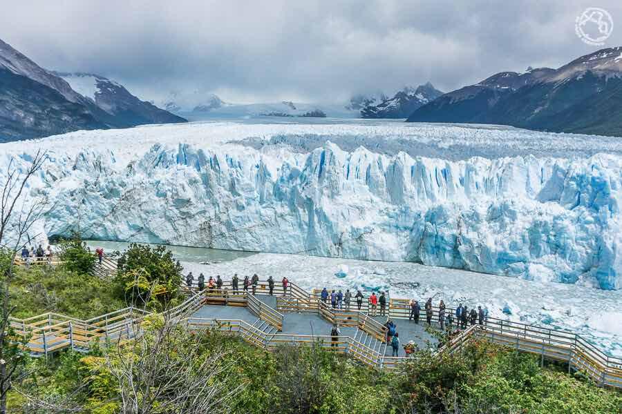 Glaciar estación de esquí Perito Moreno