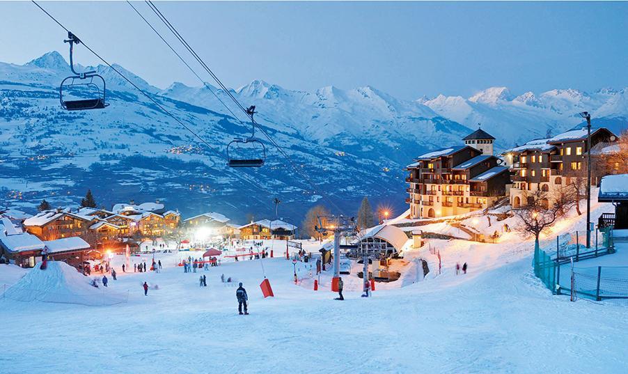 La-Plagne-ski-village