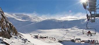 Las pistas de esquí La Hoya