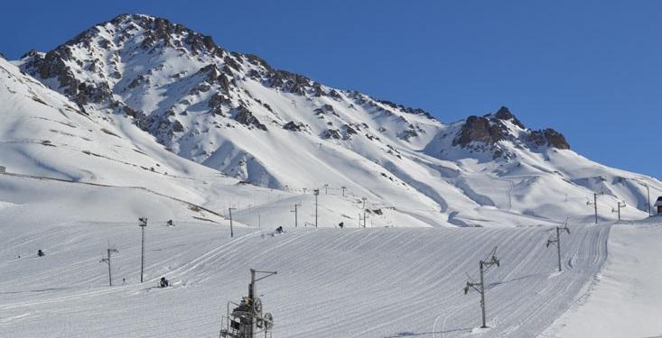 Las pistas de esquí Las Leñas