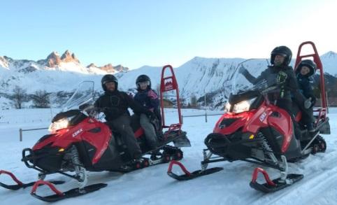 Motos de nieve Albiez