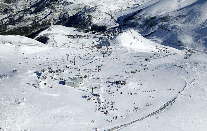 esquiar en pajares