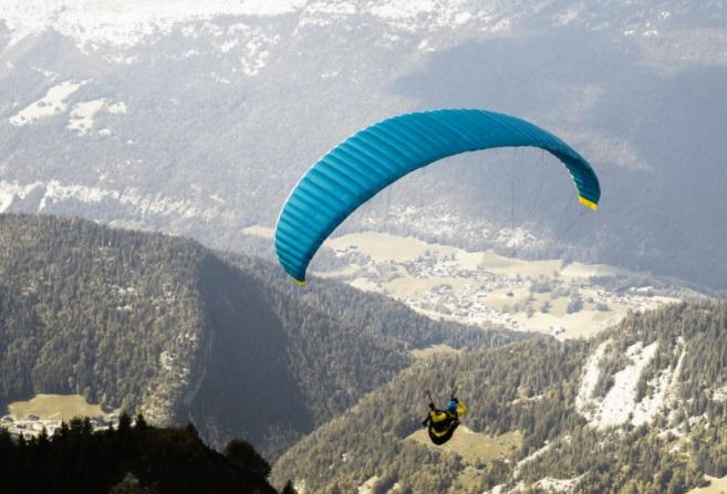 Parapente estación esquí La Clusaz