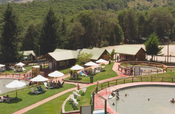 Parque de Aguas estación esquí Nevados de Chillán