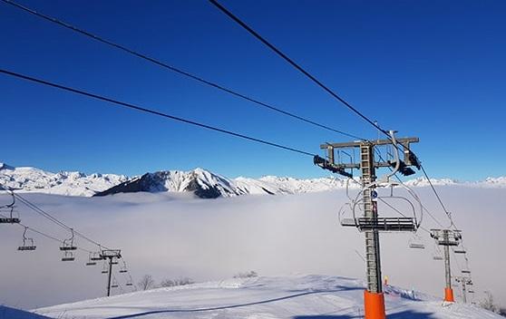Pistas de esquí Albiez