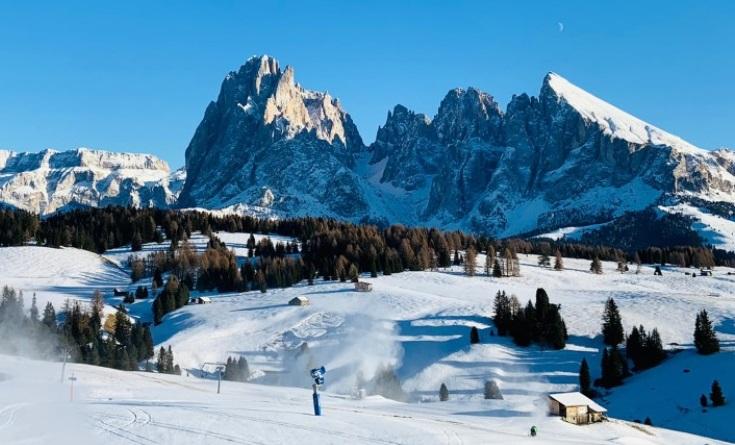 Pistas de la estación de esquí Alpe di Siusi