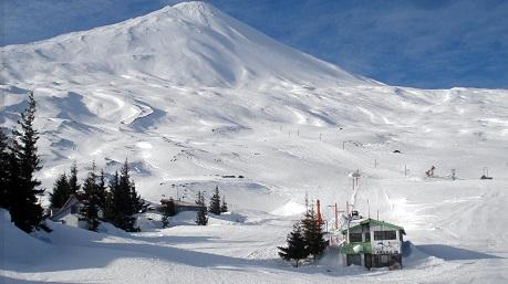 Pistas de esquí Antuco