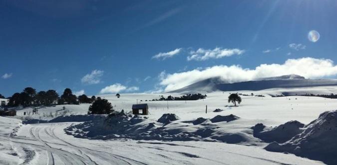 Pistas de esquí Cerro Batea Mahuida
