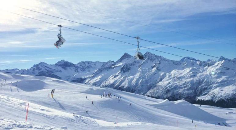 Pistas estación de esquí Davos-Klosters