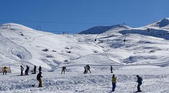 Pistas de esquí Lagunillas