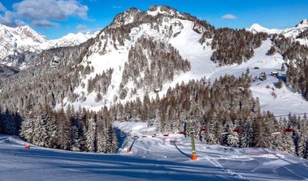 Pistas estación de esquí Marmolada