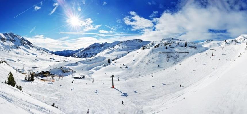 Pistas de estación de esquí Obertauern