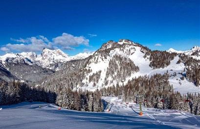 Pistas estación de esquí San Martino Di Castrozza