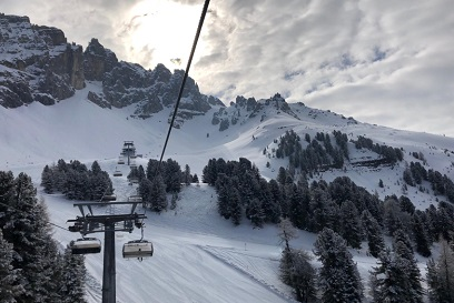 Pistas de esqui Val Di Fiemme