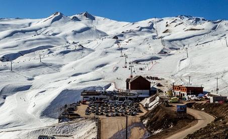 Pistas de esquí Valle Nevado