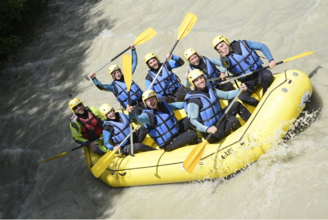 Rafting Grand Montets