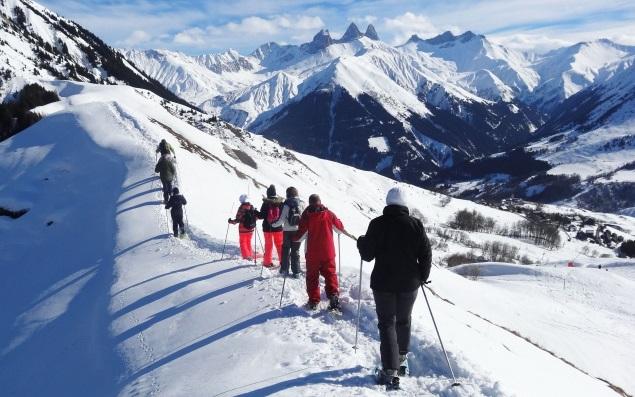 Raquetas de nieve Les Sybelles