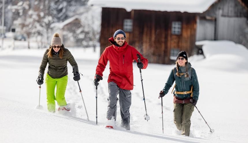 Raquetas de nieve estación de esquí Davos-Klosters