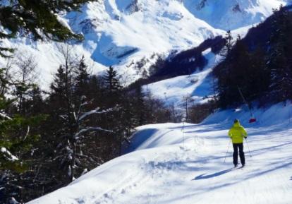 Raquetas de nieve Gourette